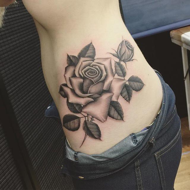 Rose Tattoo by Oliver Macintosh