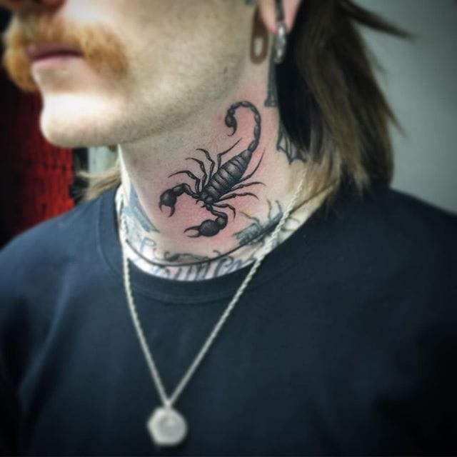 Scorpion Tattoo by Oliver Macintosh