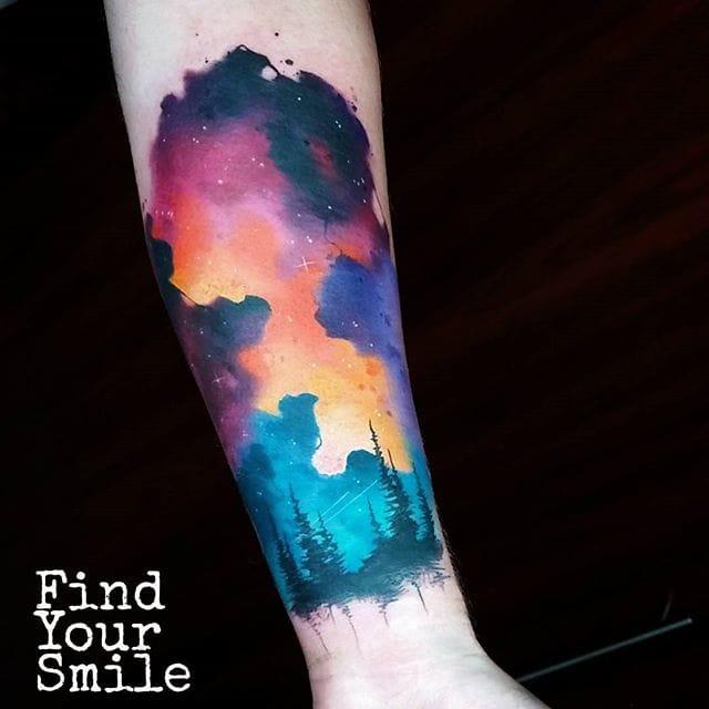 Space Tattoo by Russell Van Schaick