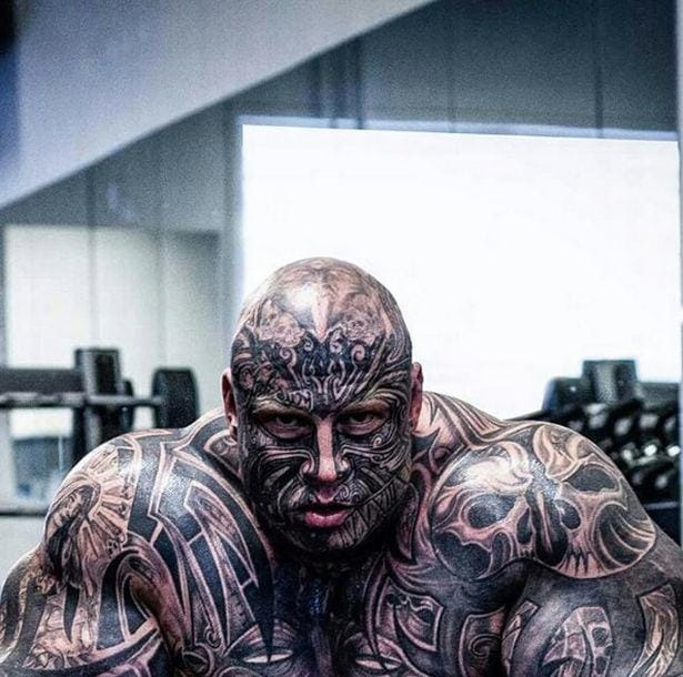 Release The Beast: Juvenile Delinquent Turned Tattooed Bodybuilder