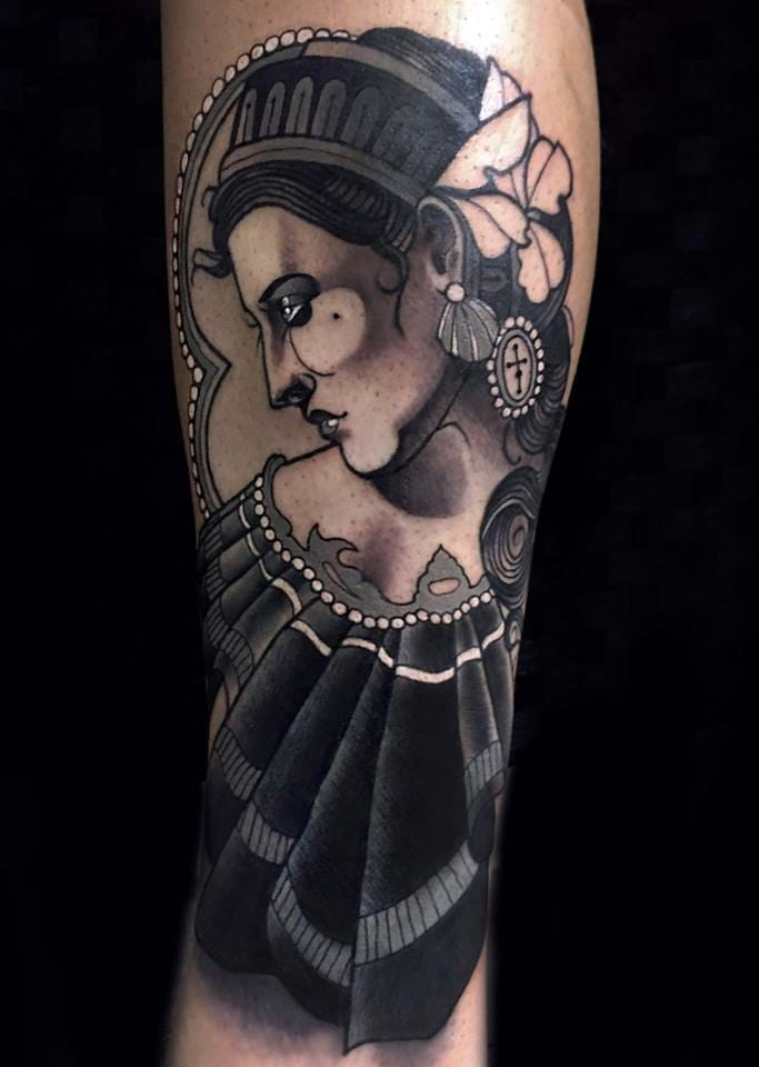 Tattoo by Chris Green.