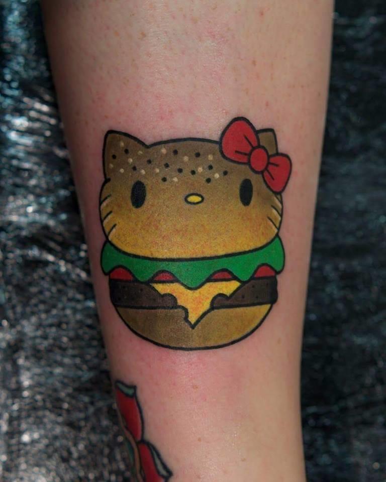 Hamburger Hello Kitty