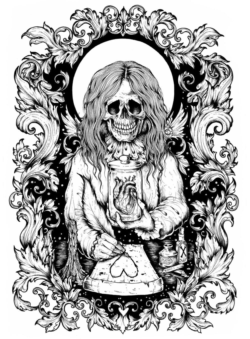 Dead Dandy A3 Print