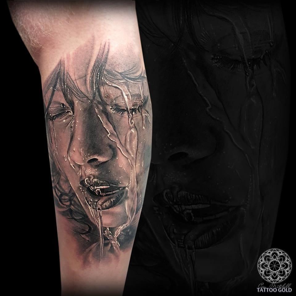 15 Tatuagens Realistas De Coen Mitchell