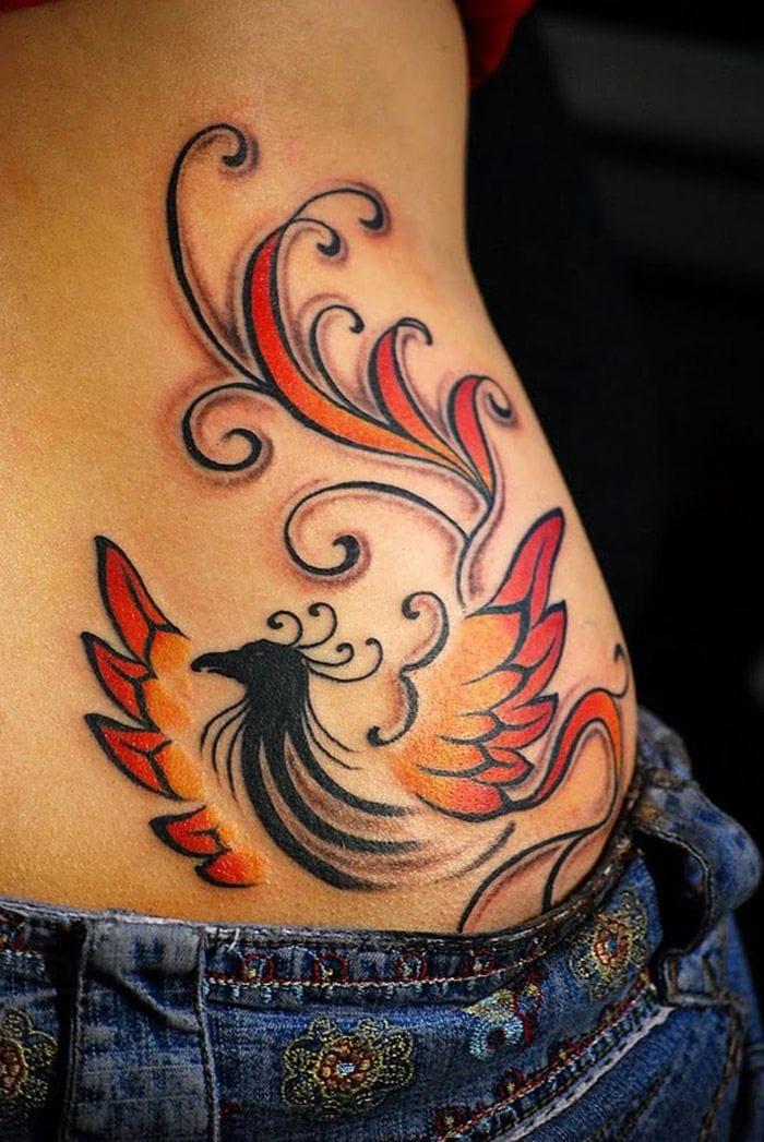 A very nice tribal version, love it! By Douglas Lopretto #tribal #phoenix