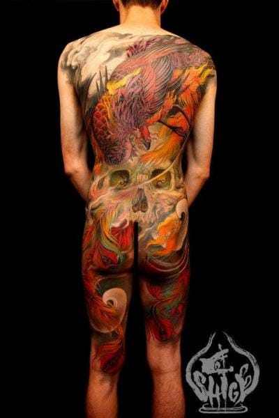 The master Shige is of course responsible for this amazing bodysuit. #shige #bodysuit