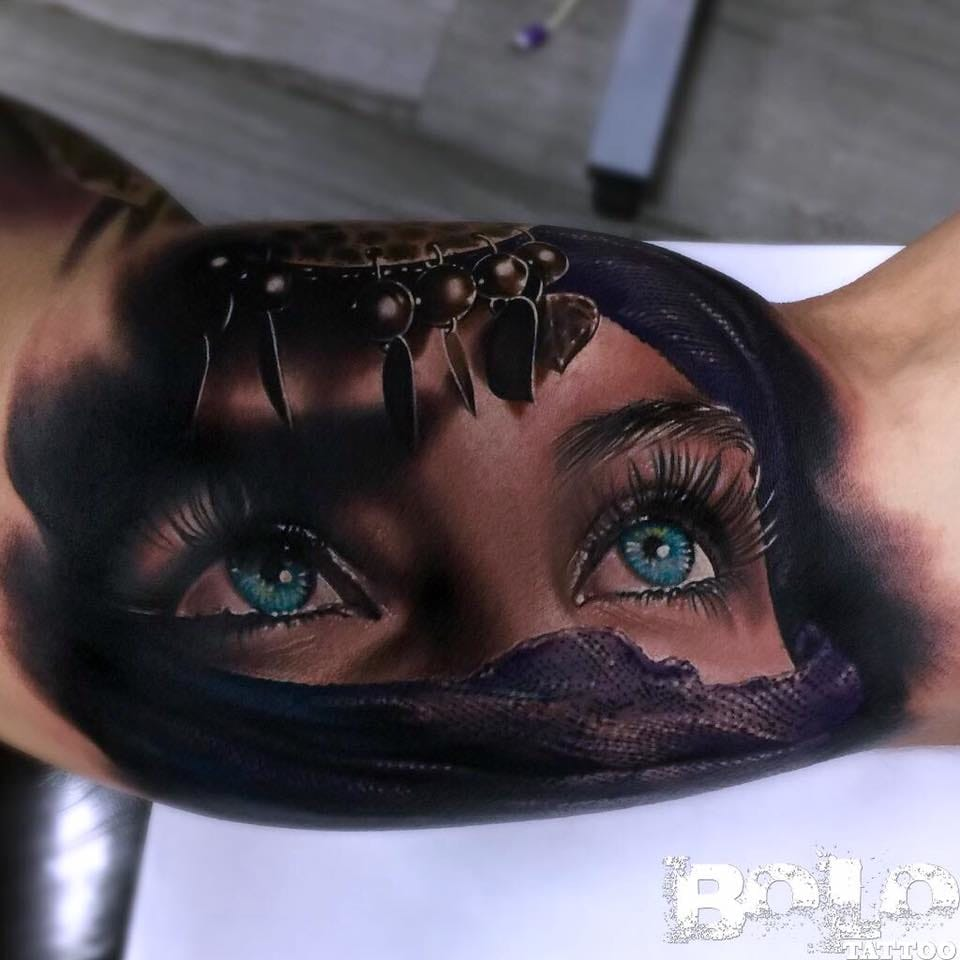 7 Fascinating Veiled Beauty Tattoos