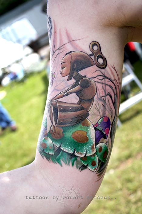 Adorable fantasy piece by Robert Witczuk.