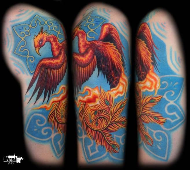 Nice colors and patterns here by Nathan Kostechko. #phoenix #nathankostechko