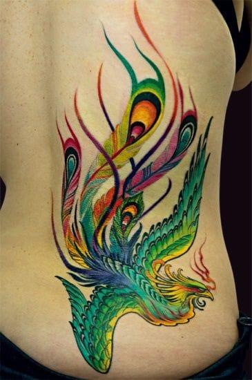 Tattoo Sourcebook Phoenix: 40 Blazing Phoenix Tattoos