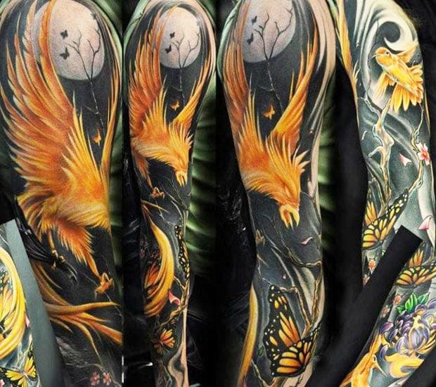 Flames on black by Chad Chase. #phoenix #chadchase
