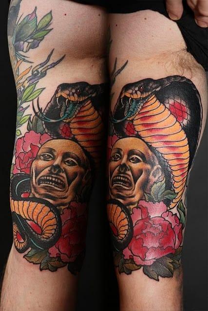 Indiana Jones Inspired Tattoo, artist unknown