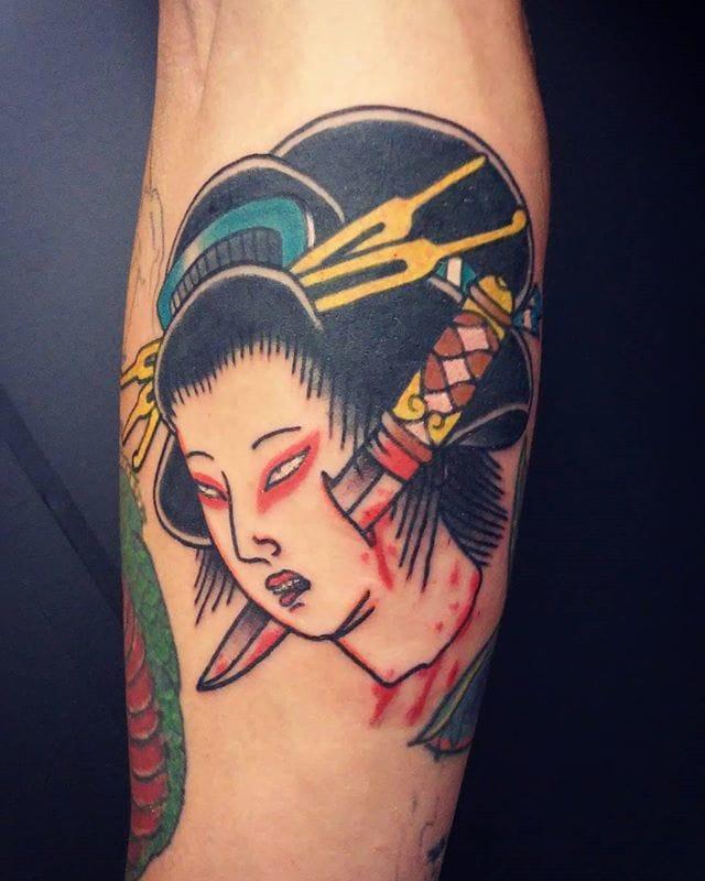 Namakubi Tattoo by Arnon Côrte Real