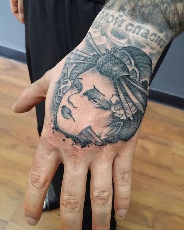 Namakubi Tattoo by Paul Nguyen