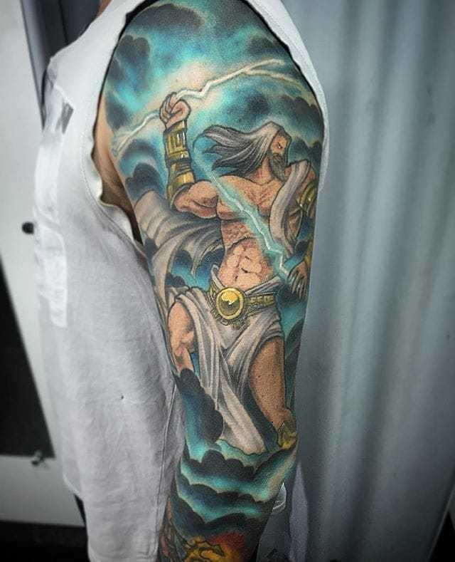 10 Awe-Inspiring Zeus Tattoos