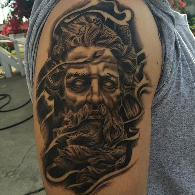 Tattoo by Luis Inda