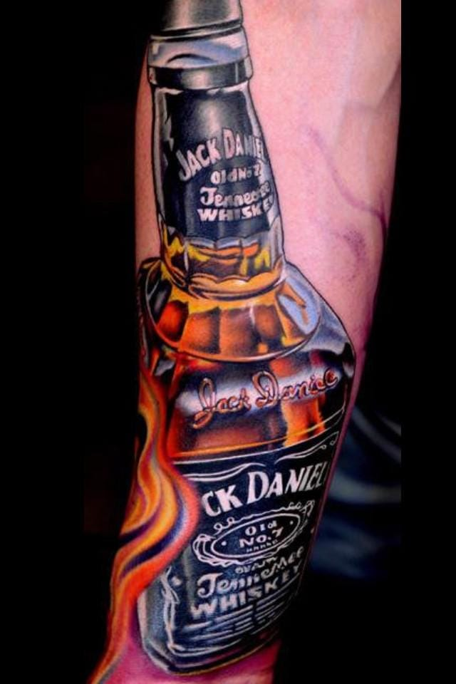 Cheers! Love how the letters in this tattoo were neatly done.