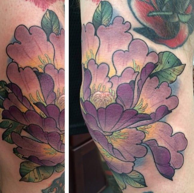 Tattoo by Daniel Dagones, San Jose, CA. Photo from Instagram @dagonestattoo.
