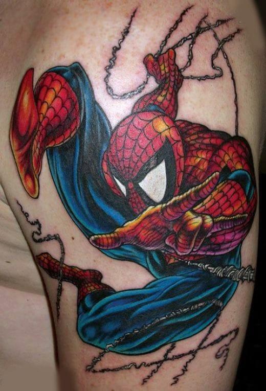 13. SpiderMan - Artist unknown.