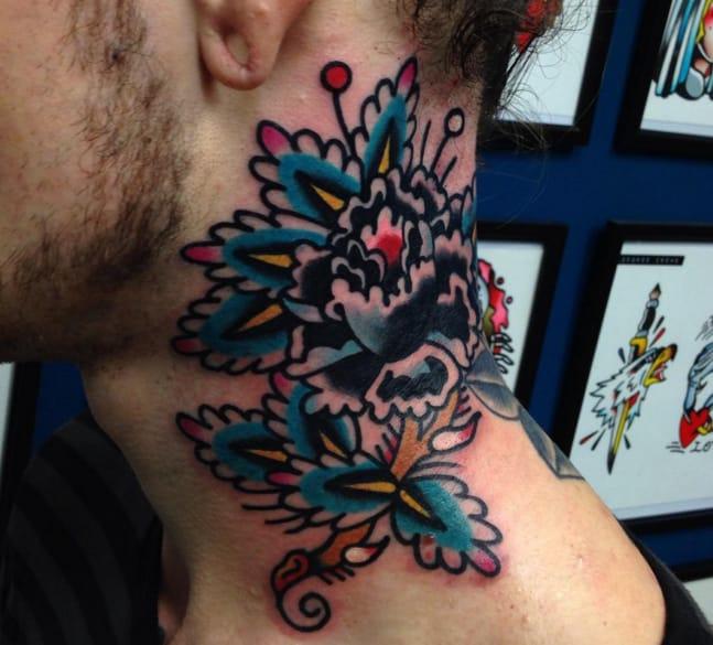 Tattoo by George Crewe, Studio 52, Leicester, UK (Instagram @georgecrewetattooer).