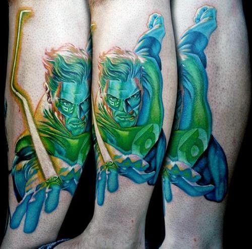 16. Green Lantern (Hal Jordan) - Done by Cecil Porter.