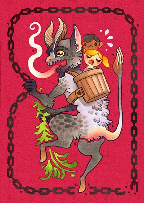 """Merry Krampus! A Tribute To The """"christmas Devil"""""""