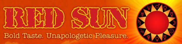 The Red Sun Cigarettes logo