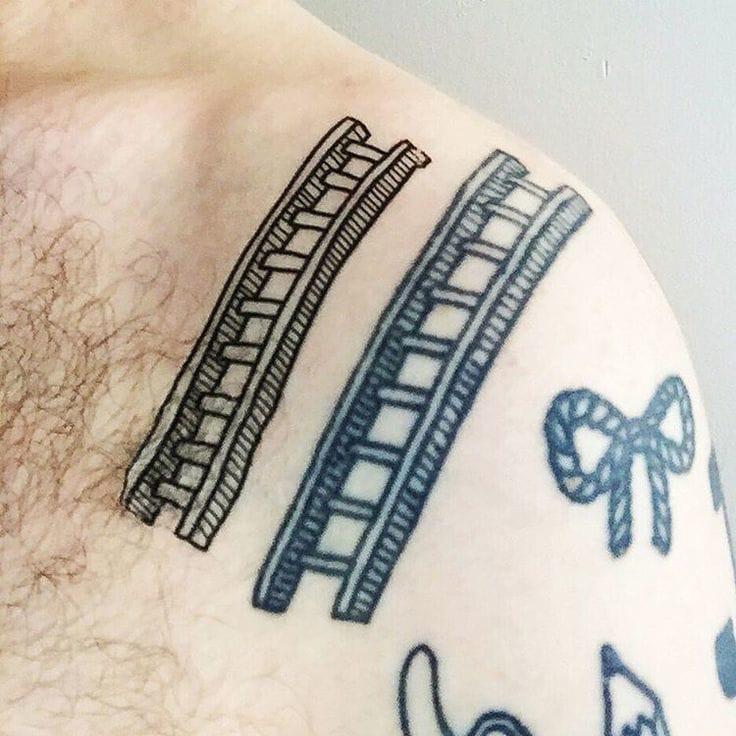 Ladder Tattoo by Adam J. Kurtz