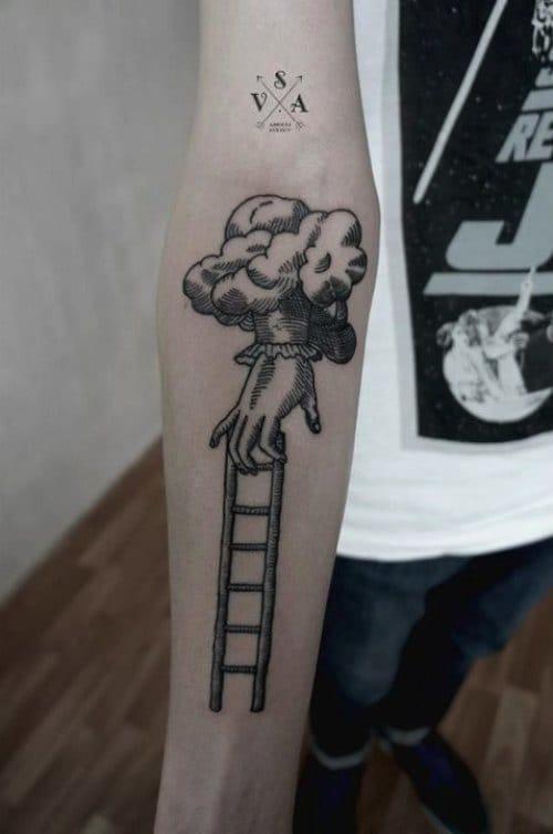 Ladder Tattoo by Andrey Svetov