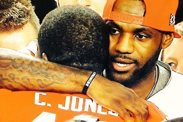 Is Jones' Tattoo A Possible LeBron Tribute??
