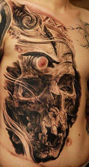 Skull by Dmitriy Samohin