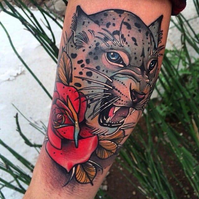 12 Distinguished Snow Leopard Tattoos