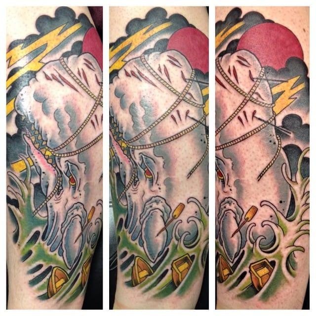 Tattoo by Steve Black