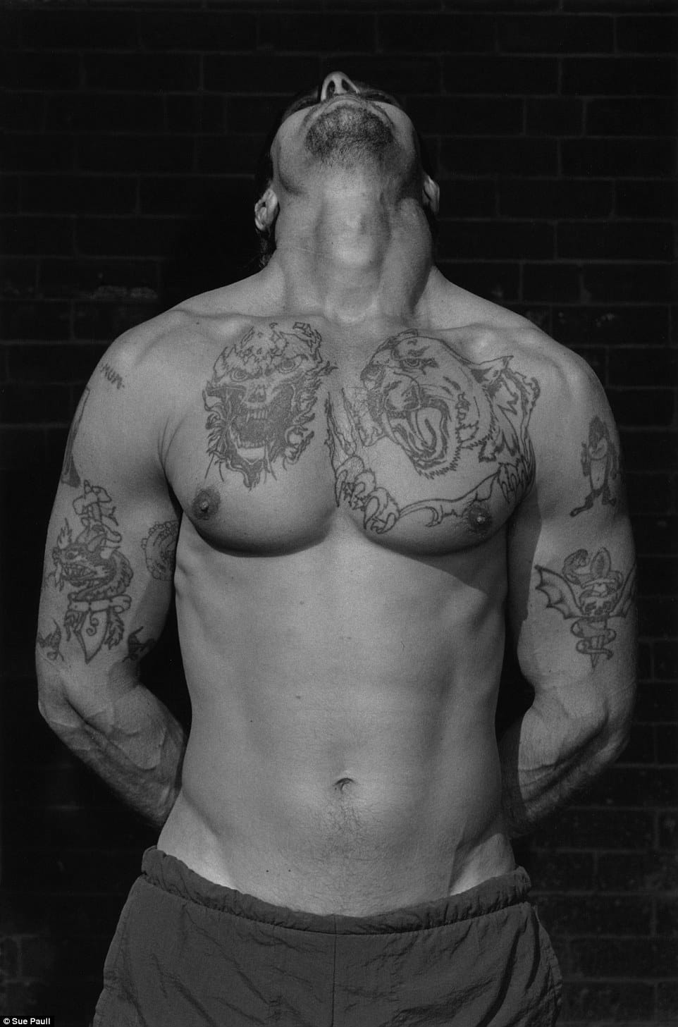 Photographer Captured Tattoos Of Australia's Most Violent Criminals!