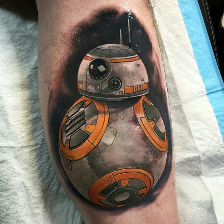 8 Great Bb-8 Tattoos