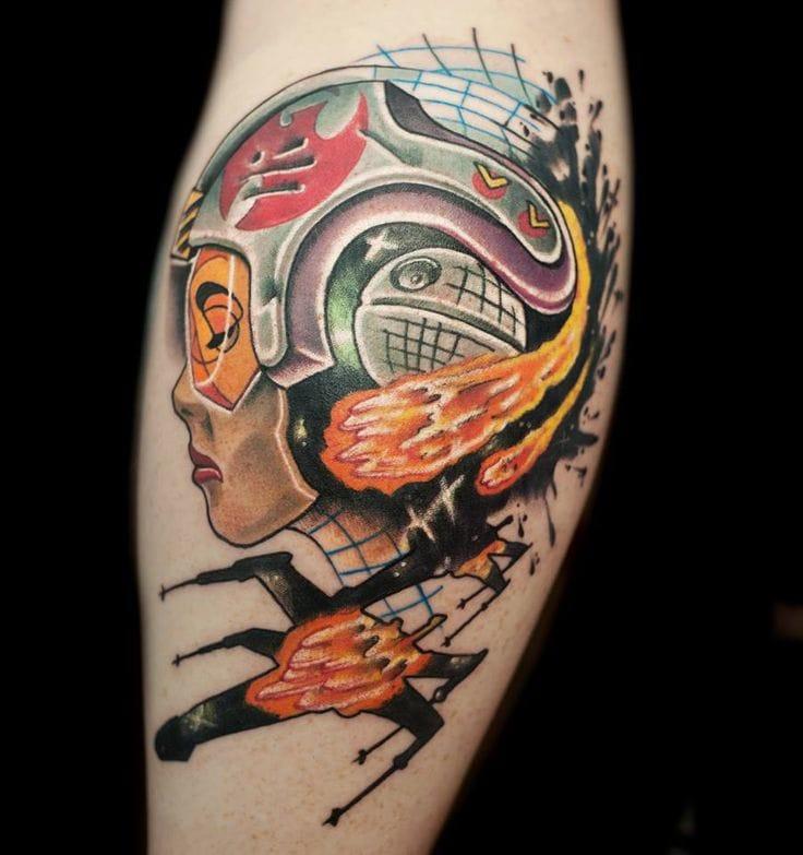 Tattoo by Jeff Wortham