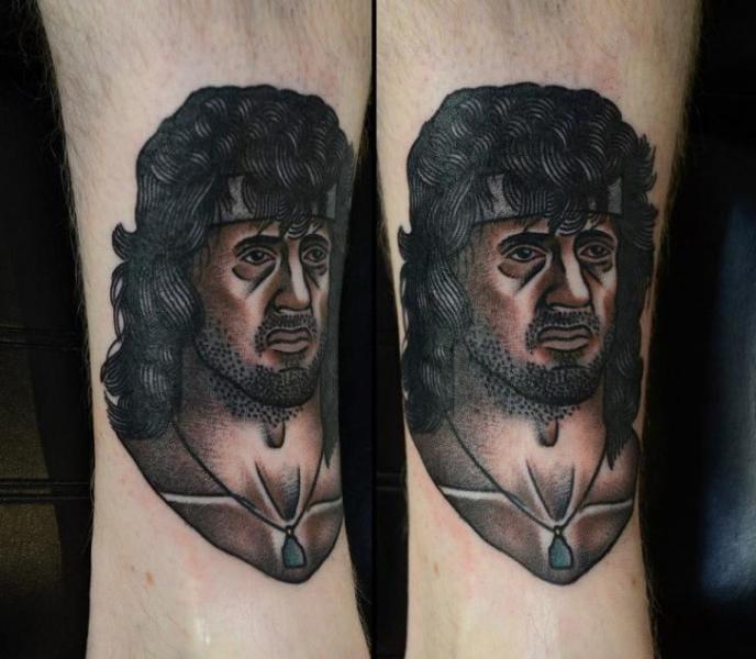 Rambo tattoo
