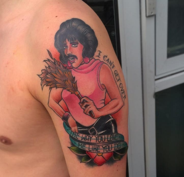 Pictures Of Queen Band Tattoos Kidskunst Info