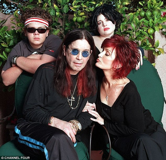 "Her mom, Sharon Osbourne (from the reality hit TV series, ""The Osbournes"", aired 2002 ), wasn't too happy about it."