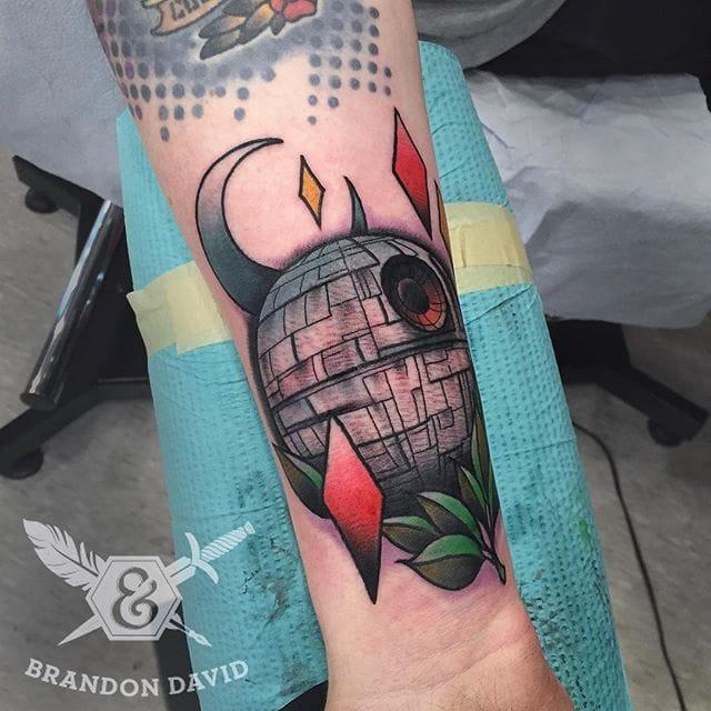 Star Wars Tattoo by Brandon David