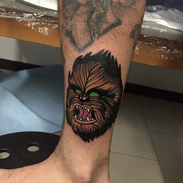 Star Wars Tattoo by Rud de Luca