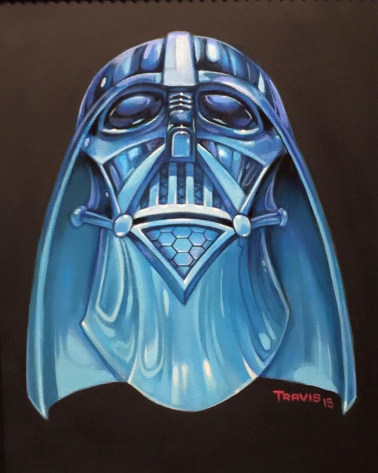Crystal Vader by @travisfranklin