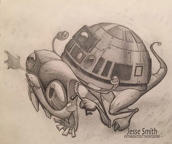 R2D2 by Jesse Smith