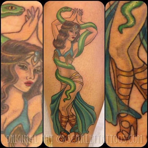 Tattoo from @scarlettattoos.com