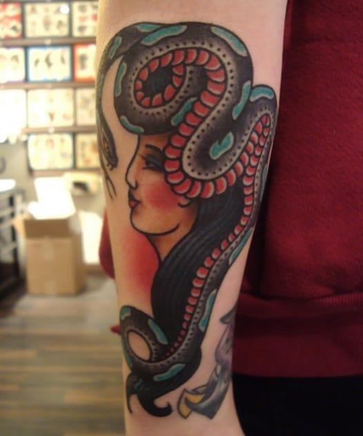 Beautiful tattoo by Steve Boltz.