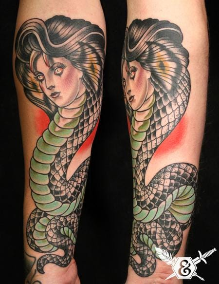 Snakes are creepy enough, what more if you turn it into a woman! :-O