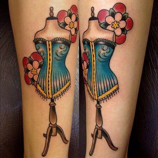 8 Sew Cool Mannequin Tattoos