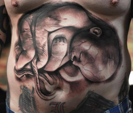 10 Amazing Fetus Tattoos