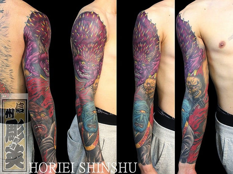 Tattoo by Horiei Shinshu
