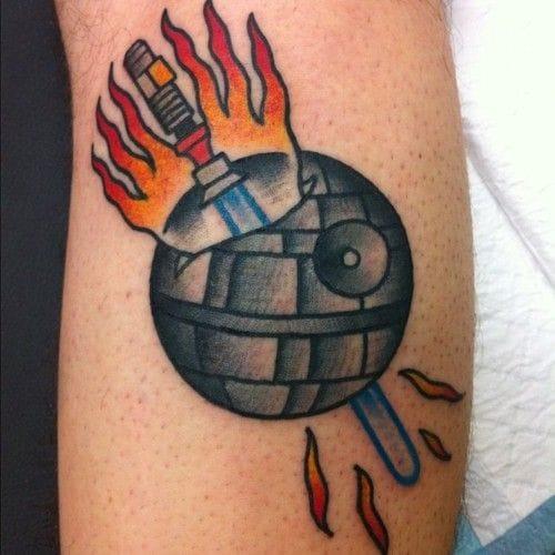 8 Really Cool Death Star Tattoos